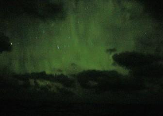 Aurora australis, finally!